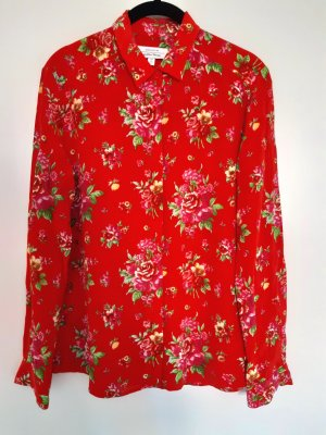 & other stories Silk Blouse multicolored silk