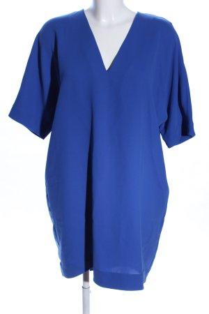 & other stories A-Linien Kleid blau Business-Look