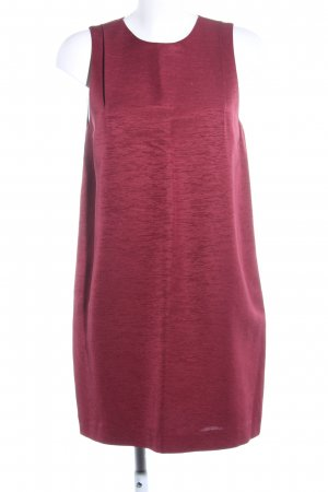 & other stories A-Linien Kleid rot meliert Casual-Look