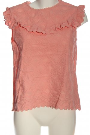 & other stories Blusa sin mangas rosa look casual