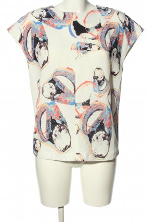 & other stories ärmellose Bluse Allover-Druck Casual-Look