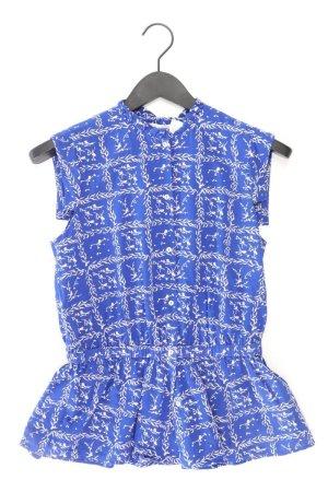 & other stories Sleeveless Blouse blue-neon blue-dark blue-azure cotton