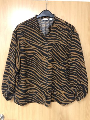 stockholm atelier & other stories Oversized Blouse brown-black