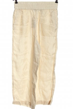 & other stories Baggy Pants creme-schwarz Streifenmuster Casual-Look