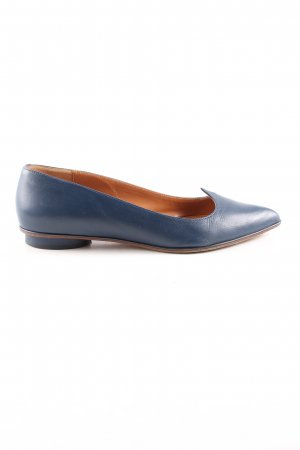& other stories Ballerinas mit Spitze blau Business-Look