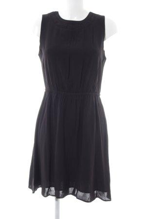 & other stories Sukienka z rękawem balonowym czarny W stylu biznesowym