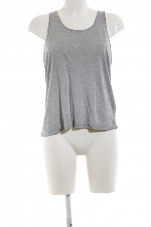 & other stories Basic Top hellgrau meliert Casual-Look