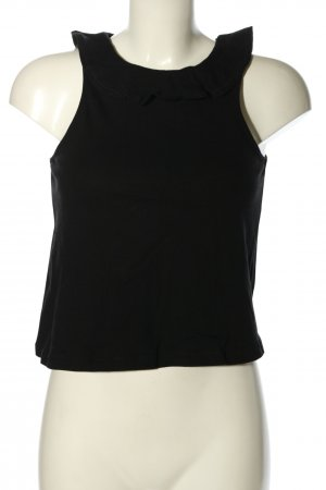 & other stories Basic Top schwarz Casual-Look