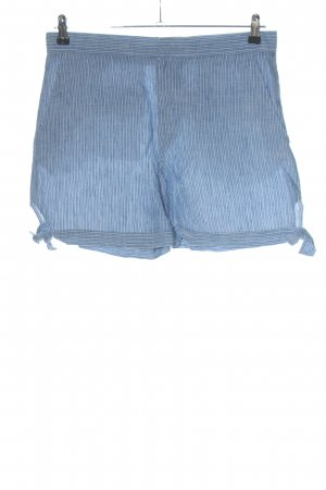 & other stories Bermudas white-blue striped pattern casual look