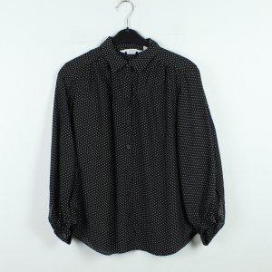 & other stories Shirt Blouse black-white mixture fibre