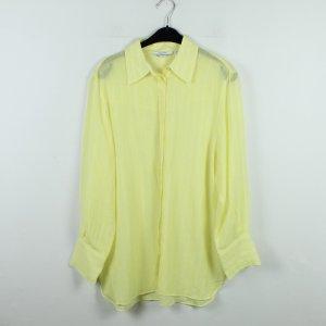 & OTHER STORIES Bluse Gr. 40 gelb weiß gestreift oversized (20/01/098)