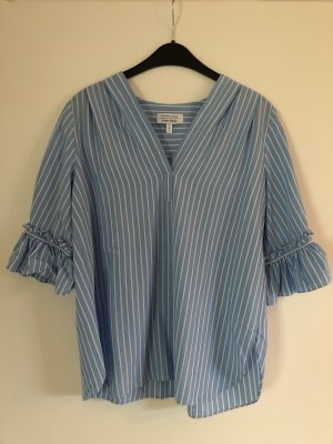 & other stories Bluse Hemd Shirt gestreift Rüschen Marine