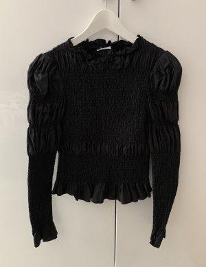 & other stories Blouse Shirt black cotton
