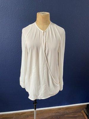& other stories Wraparound Blouse white polyester