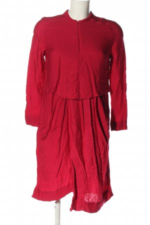 & other stories Blusenkleid rot Casual-Look