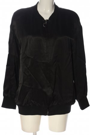 & other stories Chaqueta bomber negro look casual