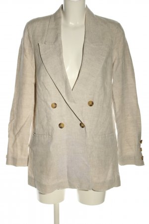 & other stories Blazer Boyfriend blanco puro look casual
