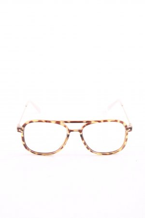 & other stories Glasses light orange-brown leopard pattern business style