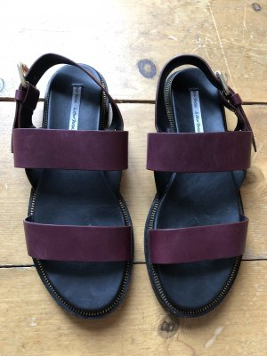 Other stories burgundy Ledersandalen Gr  38 - Original €69