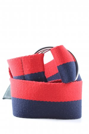 & other stories Canvas Belt red-blue casual look