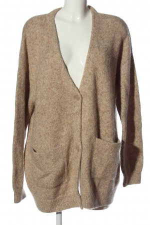 & other stories Cardigan color carne-bianco sporco puntinato stile casual