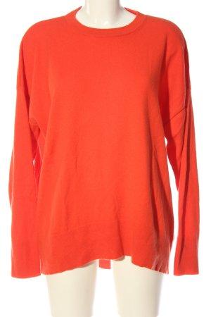 & other stories Pullover in cashmere arancione chiaro stile casual