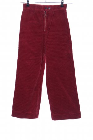 & other stories Cordhose rot Casual-Look
