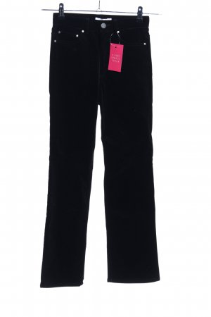 & other stories Cordhose schwarz Casual-Look