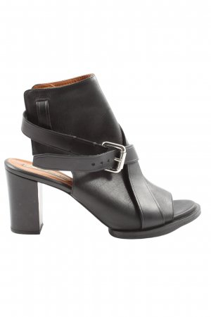 & other stories Cut-Out-Stiefeletten schwarz Elegant