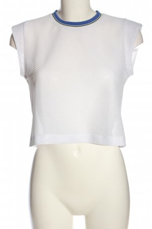& other stories Top cut out blanco look casual