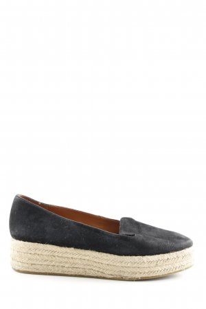 & other stories Espadrilles-Sandalen schwarz-creme Casual-Look