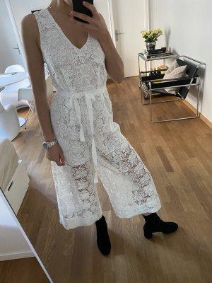 & other stories Floral Lace Jumpsuit Spitze Weiß Gr. 34 / XS - NEU mit Etikett!