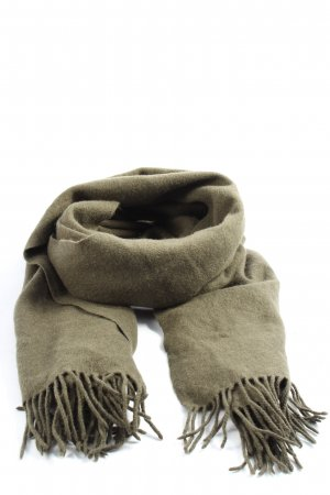 & other stories Fringed Scarf khaki casual look