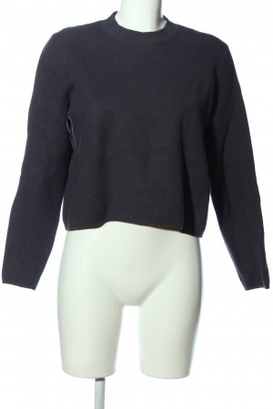 & other stories Grobstrickpullover schwarz Casual-Look