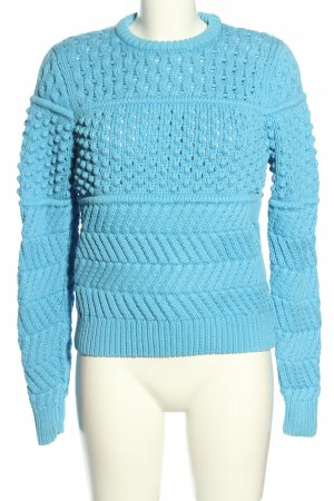 & other stories Grobstrickpullover türkis Casual-Look