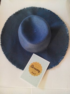 & other stories Straw Hat cadet blue mixture fibre