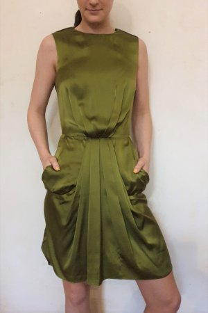 & other stories Pencil Dress grass green-green silk