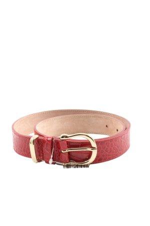 & other stories Hebilla del cinturón rojo estampado de animales look casual
