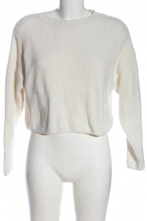 & other stories Crochet Sweater white casual look