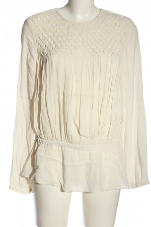 & other stories Hemd-Bluse creme Business-Look