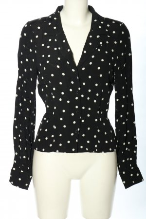 & other stories Shirt Blouse black-white spot pattern casual look