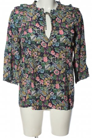 & other stories Hemd-Bluse Allover-Druck Casual-Look
