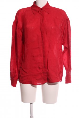 & other stories Hemd-Bluse rot Casual-Look