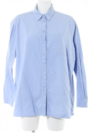 & other stories Hemd-Bluse blau Business-Look