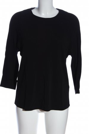 & other stories Hemd-Bluse schwarz Casual-Look