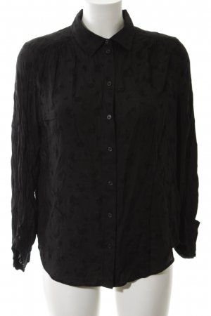& other stories Hemd-Bluse schwarz Business-Look