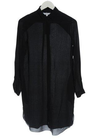 & other stories Shirtwaist dress black casual look