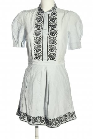 & other stories Shirtwaist dress white-black casual look
