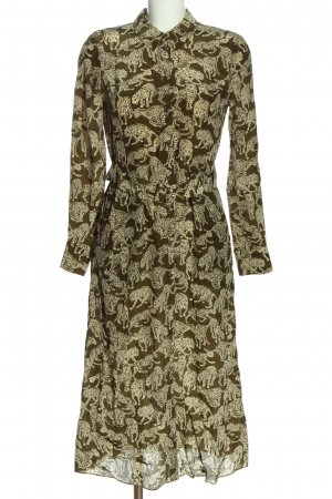 & other stories Shirtwaist dress allover print casual look
