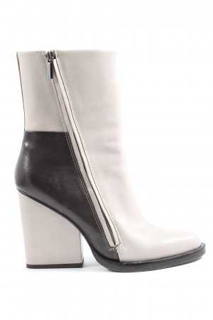 & other stories High Heel Boots white-black casual look